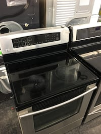 black and gray induction range oven Toronto, M3J