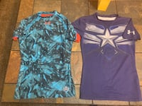 Boys sz YMD Under Armour Fitted Shirts. Oklahoma City, 73127