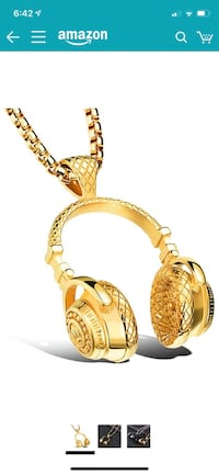 Gold Plated HIp Hop Chain Lowell, 01854