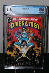 Omega Men #3 First Lobo Appearance CGC 9.6 SHOW Mississauga, L5N 7V4