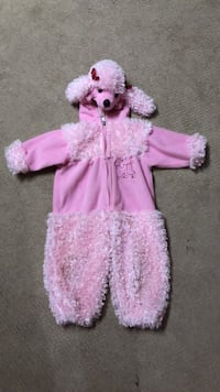 Poodle Halloween costume. Toddler size 1967 km