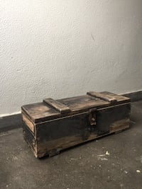 gray and brown wooden chest London, E9 7SG