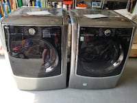 LG Dryer (DLEX9000V) & Washer (WM9000HVA) Clifton