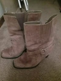 Womans size 9 brown leather Harley Davidson boots  Corbin, 40701