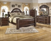 Ashley 8 Piece King Bedroom Collection Gabriela Apollo Beach, 33572