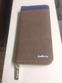 Brown baellerry leather long wallet Simcoe, N3Y 3V5