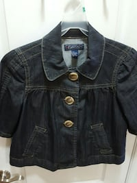 black denim jacket Saint Catharines, L2R 3M3
