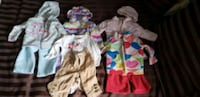 Girls baby clothes size 3 to 9 months  Mississauga, L5H 1E6