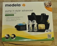 $250 or best offer - Perfect Condition Medela Double Electric Breastpump Bundle - Sanitized Hamilton