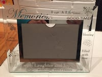 Crystal cut photo frame Sacramento, 95816