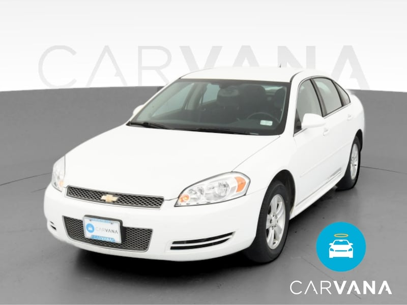 2014 Chevy Chevrolet Impala Limited sedan LS Sedan 4D White  0