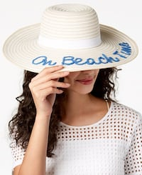 """August Hats. """"On Beach Time"""" Floppy Hat Lancaster, 93536"""