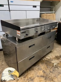 Electric griddle 5'