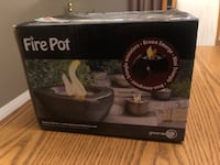 BRAND NEW GREEN EARTH FIREPOT North Dumfries, N0B 1E0