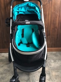 Baby's black and blue jogging stroller Freehold, 07728