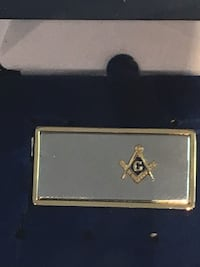 Masonic money clip  Yorktown, 23692