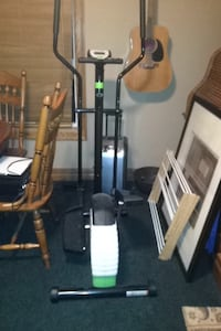 black and white elliptical trainer Calgary, T3A 6H4