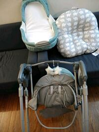 Whole package: baby swing , travel net plus boppy  Baltimore, 21217