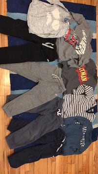 sweaters and sweatpants 3T and 2T mostly Carter's