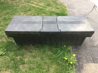 Black hard plastic one ton truck job box Barrie, L4N 9Y8