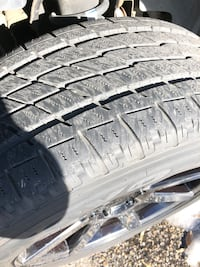 275/55R20 tires and rims