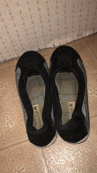 pair of black leather flats Moscow, 83843