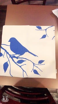 Bird printed cushion pillowcase cover 4pcs 18x18 萨德尔布鲁克, 07663