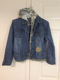 Denim la senza youth girls size large jacket  Brampton, L6R