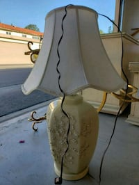 gray and brown table lamp 2253 mi
