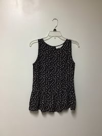 Women's LOFT 100% polyester sleeveless top… Size small.