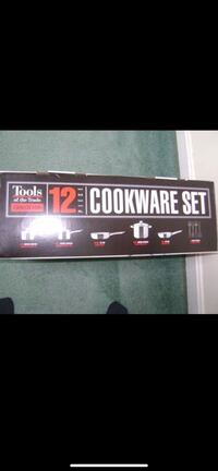 Tools of the Trade Stainless 12 Piece Cookware Set