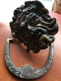 Brass door knocker Vancouver, V6M 1X5