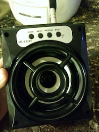 Portable speaker with Bluetooth
