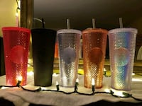 Starbucks Studded Tumblers - FULL SET Silver Spring, 20906