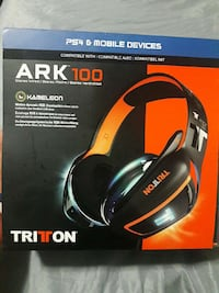 Used Ark 100 Tritton Gaming Headset For Ps4 For Sale In