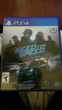 Need for Speed PS4 game case Wilmington, 19804