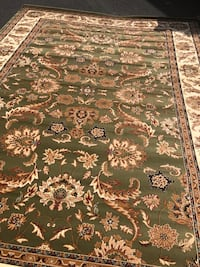 Brand new Area Rug size 8x11 nice traditional design green carpet Fairfax, 22031