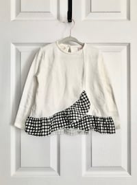 Zara toddler top size 3-4 Mississauga, L5M 0H2