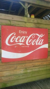 Coca Cola Classic metal sign Lanham, 20706