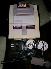 Super nintendo (snes) cable game. NO CONTROLLER IT SOLD $80