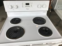 white 4-coil electric range Henrico, 23238