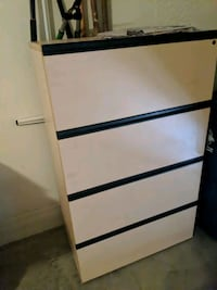 Office file cabinet with keys