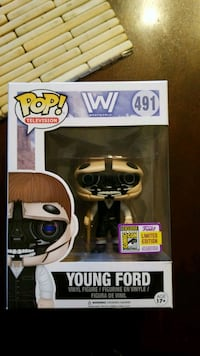 Young Ford SDCC 2017 Funko West Carson, 90710