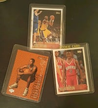 3 rookie cards: Kobe Bryant, A Iverson, Ray Allen Chicago, 60625