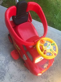 Lightning McQueen Push Car