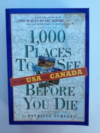 NEW Book: 1,000 places to see before you die Burke, 22015