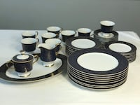 Sango China Aristocrat 3690 Beautiful Dinnerware Set New 44pcs! Jessup, 20794