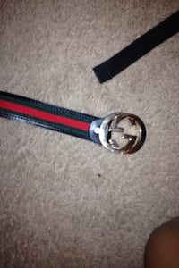 black green and red gucci buckle belt Mississauga, L4Z 3M4