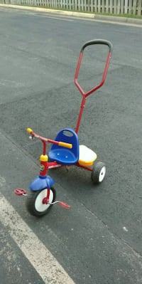 toddler's blue and red trike Stafford, 22554
