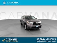 2015 *Toyota* *Highlander* LE Sport Utility 4D suv Dk. Gray Brentwood